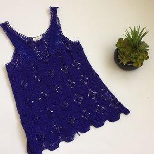 Pins & Needles Crochet Top